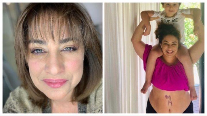 María Julia Oliván mostró su cuerpo sin tabúes
