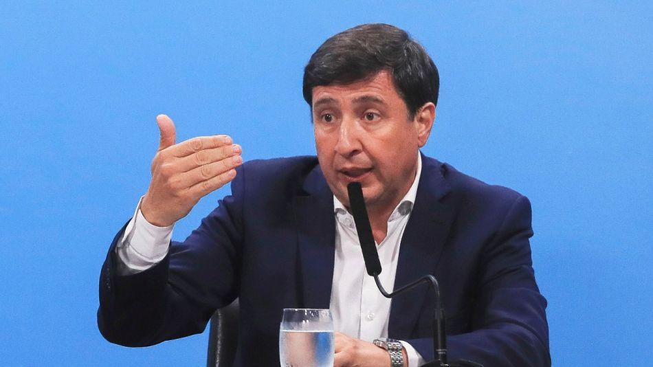 El ministro Daniel Arroyo