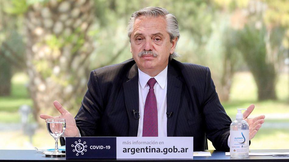 El presidente Alberto Fernández 20200925
