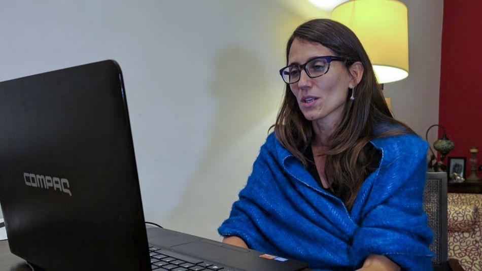 La ministra de Mujeres, Géneros y Diversidad, Elizabeth Gómez Alcorta.