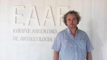 Luis Fondebrider, líder del Equipo de Antropología Forense.