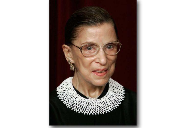 Ruth Bader Ginsburg:  amada jueza de la Corte Suprema.