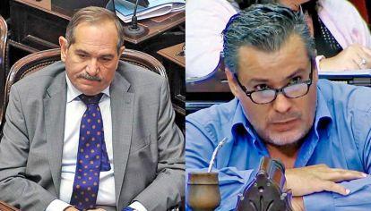 DOS CARAS. José Alperovich, senador, todavía de licencia. Juan Ameri, ex diputado, afuera.