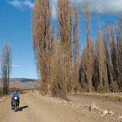 El camino hacia las termas fue por demás pintoresco.