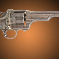 El poco difundido Merwin Hulbert calibre .45 Colt, que  según algunos autores también supo utilizar Jesse James.