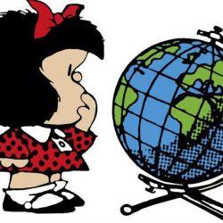 "Historieta ""Mafalda"" de Quino."