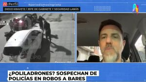Diego Kravetz desconfía de la policía por los robos de grupos comando