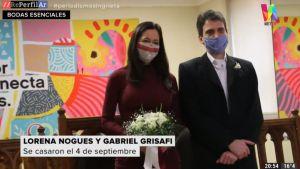Cómo es casarse en pandemia