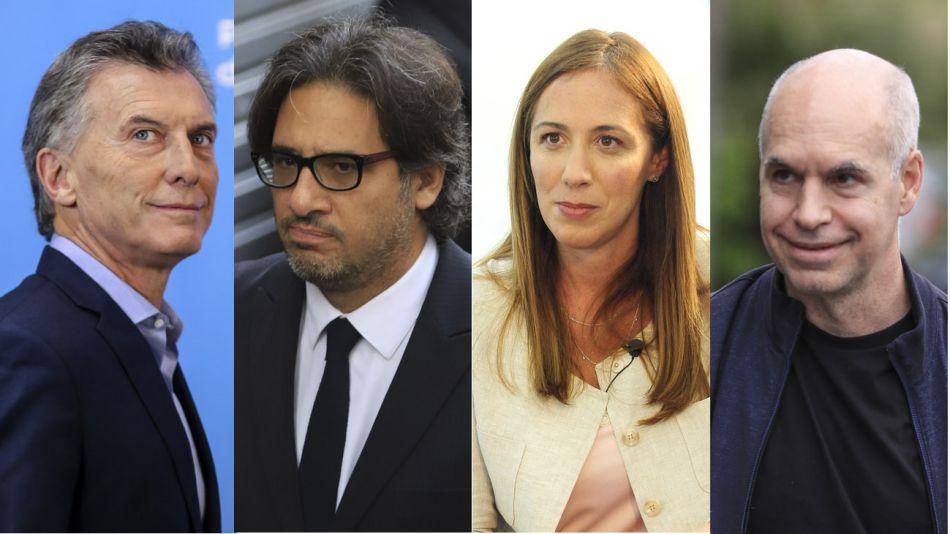 Macri, Garavano, Vidal y Larreta 20200928