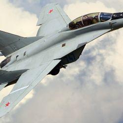 El Mikoyan MiG-29 es un caza de cuarta generación diseñado en la década de 1970 en la Unión Soviética.