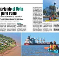 Tres travesías en kayak para descubrir el Delta.