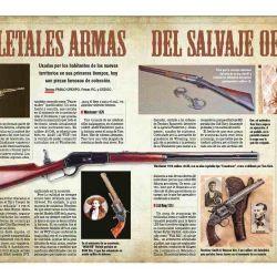 Descubrimos las legendarias armas de fuego que se utilizaban en el lejano Oeste de Estados Unidos.