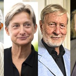 Giorgio Agamben, Judith Butler, Gianni Vattimo, Peter Sloterdijk | Foto:cedoc