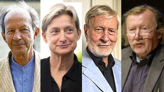 Giorgio Agamben, Judith Butler, Gianni Vattimo, Peter Sloterdijk