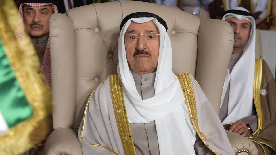 Emir de Kuwait Sabah al-Ahmad al-Sabah 20200929
