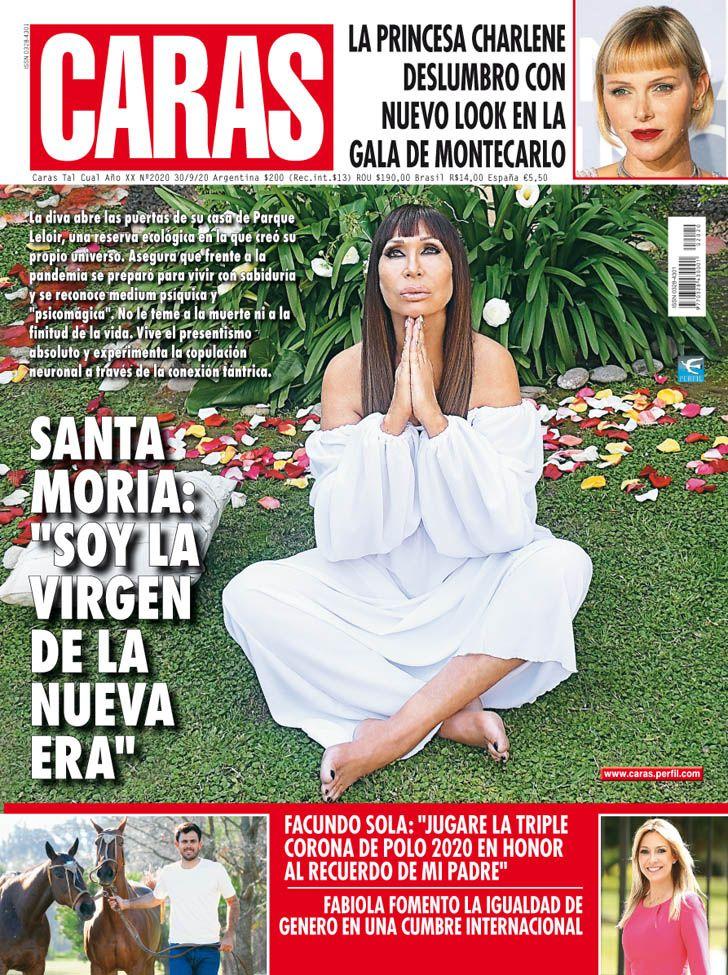 """Santa Moria: """"Soy la virgen de la nueva era"""""""