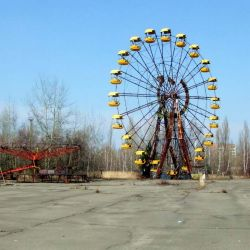 El presidente de Ucrania quiere que Chernóbil se convierta en un área turística.