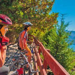 Los paseos en bicicleta: ofrecen el acercamiento más directo al paisaje.