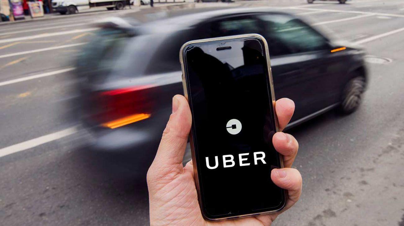 App Uber.