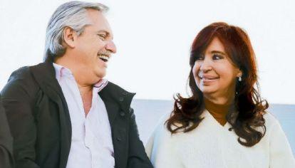 Alberto Fernández y Cristina Kirchne