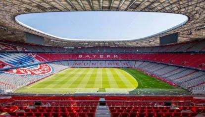 El estadio del Bayern Munich, el Allianz Arena, se destaca por ser ecológico. // FC Bayern