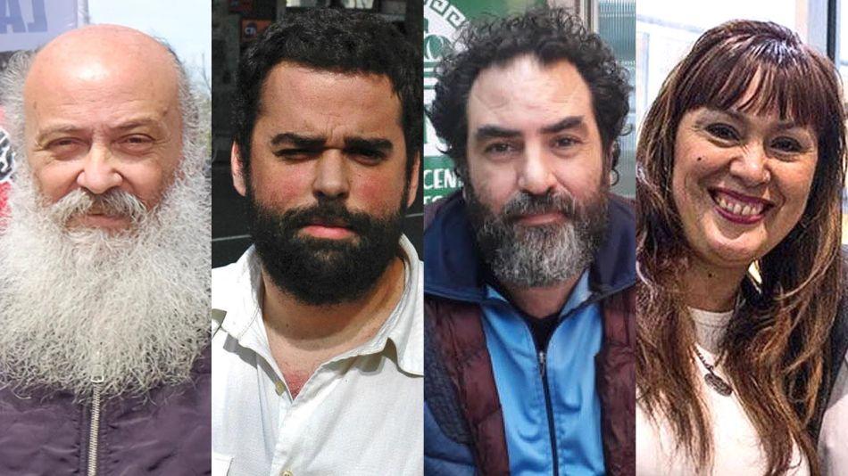Emilio Pérsico, Daniel Menéndez, Rafael Klejzer, Fernanda Miño 20200930