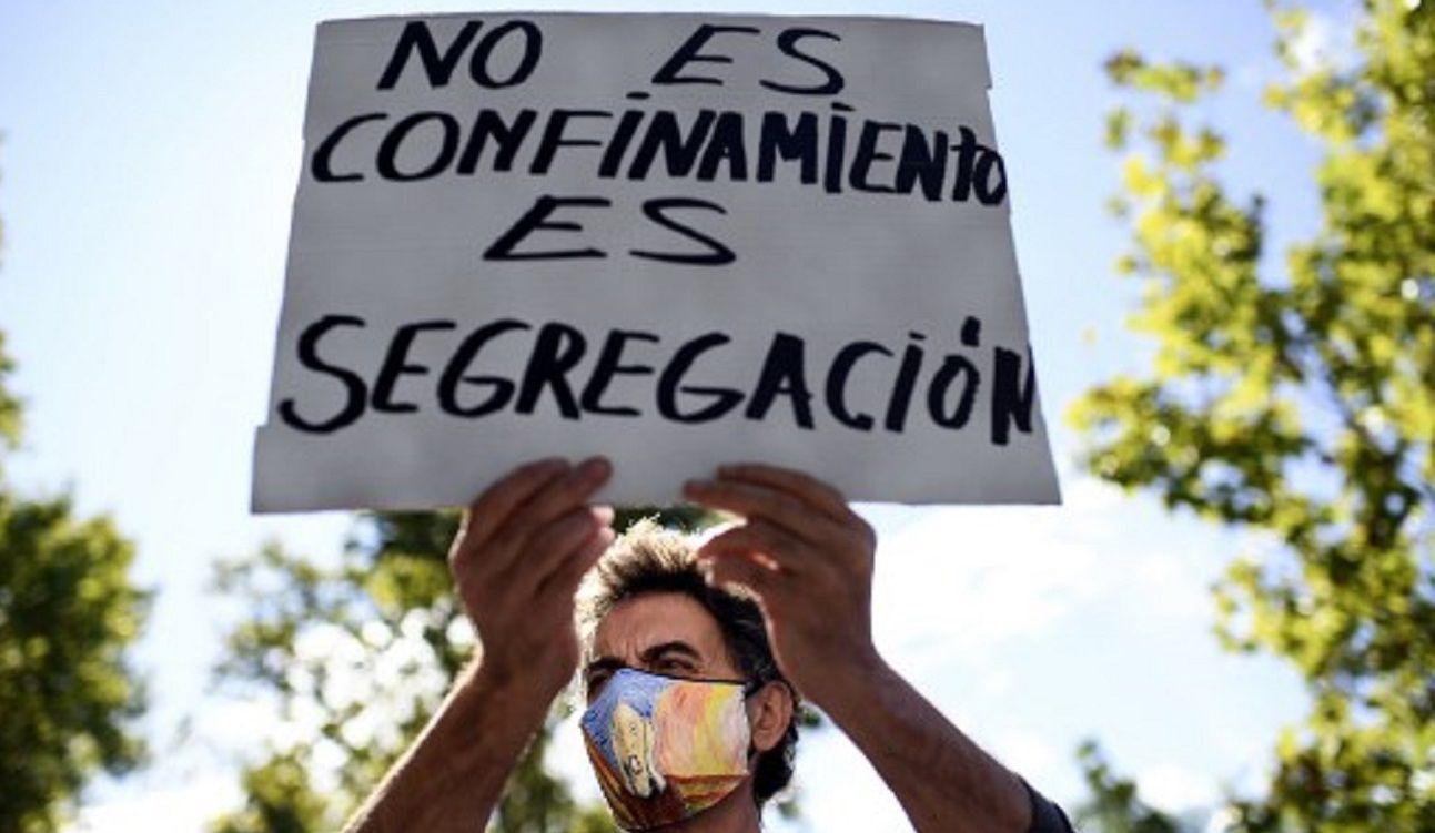 Protestas en España por las nuevas restricciones