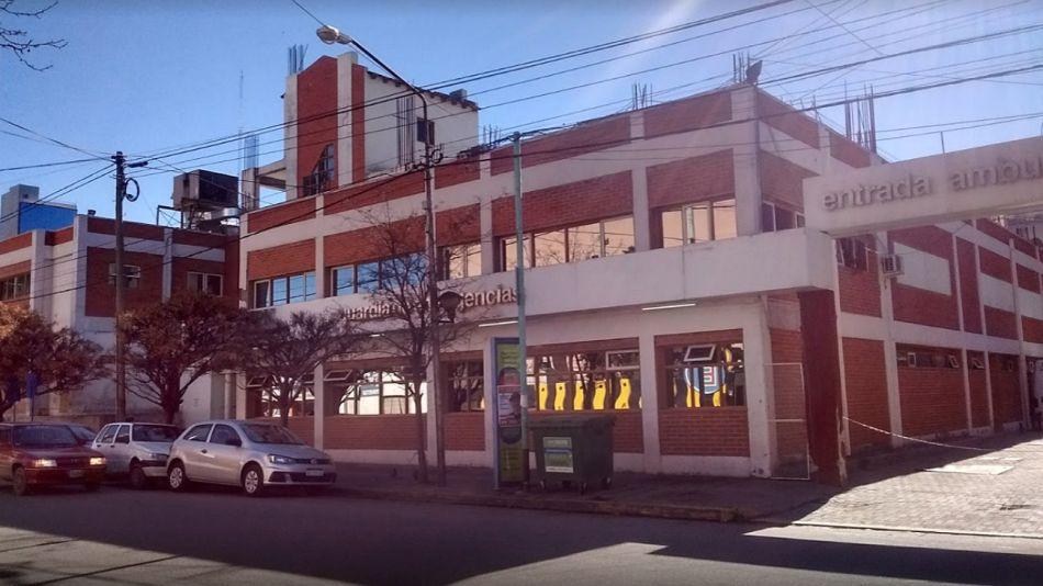 El Hospital Castro Rendón, en Neuquén.