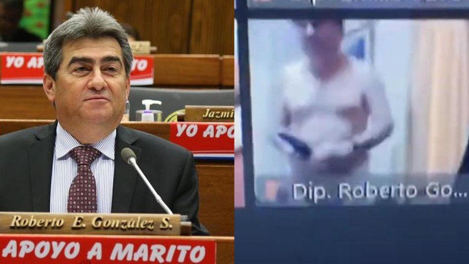 Roberto González, diputado paraguayo