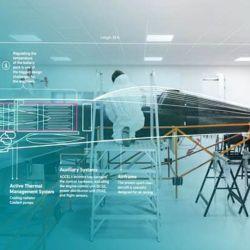 El futuro avión eléctrico ha sido bautizado como Spirit of Innovation.