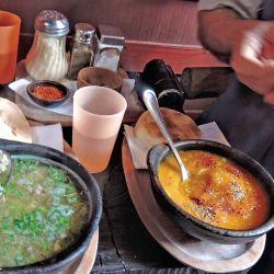 Riquísimas sopas tipicas de la zona.