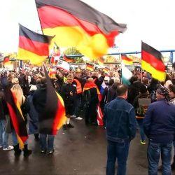 Todos los años, los festejos por la reunificación de Alemania, reúne a miles de personas.