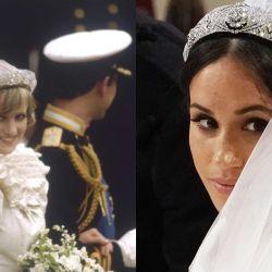 Las similitudes entre Lady Di y Meghan