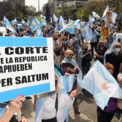 Marcha a Trubunales | Foto:cedoc