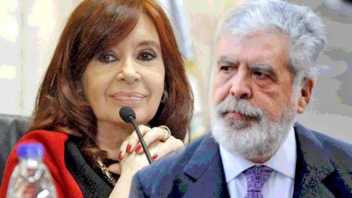 Cristina Fernández de Kirchner and Julio De Vido.