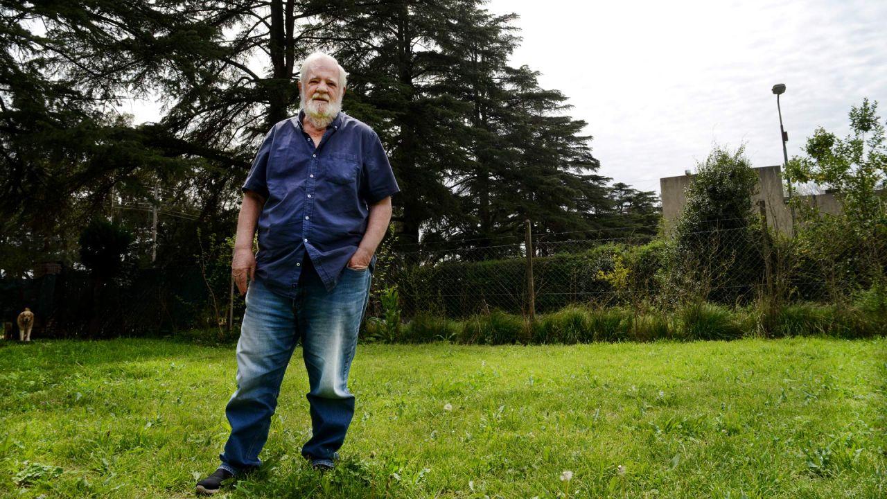 Carrascosa vive desde hace unos años en Luján   Foto:Pablo Cuarterolo