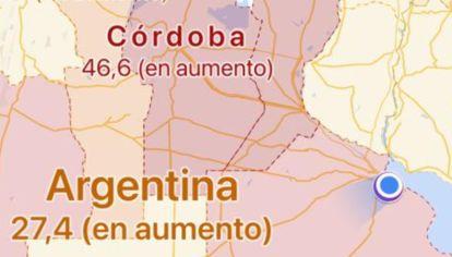 Capa Google maps coronavirus