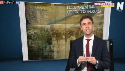 Alerta desesperanza: Éxodo argentino