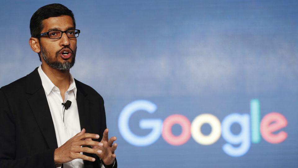 Sundar Pichai, CEO de Google.