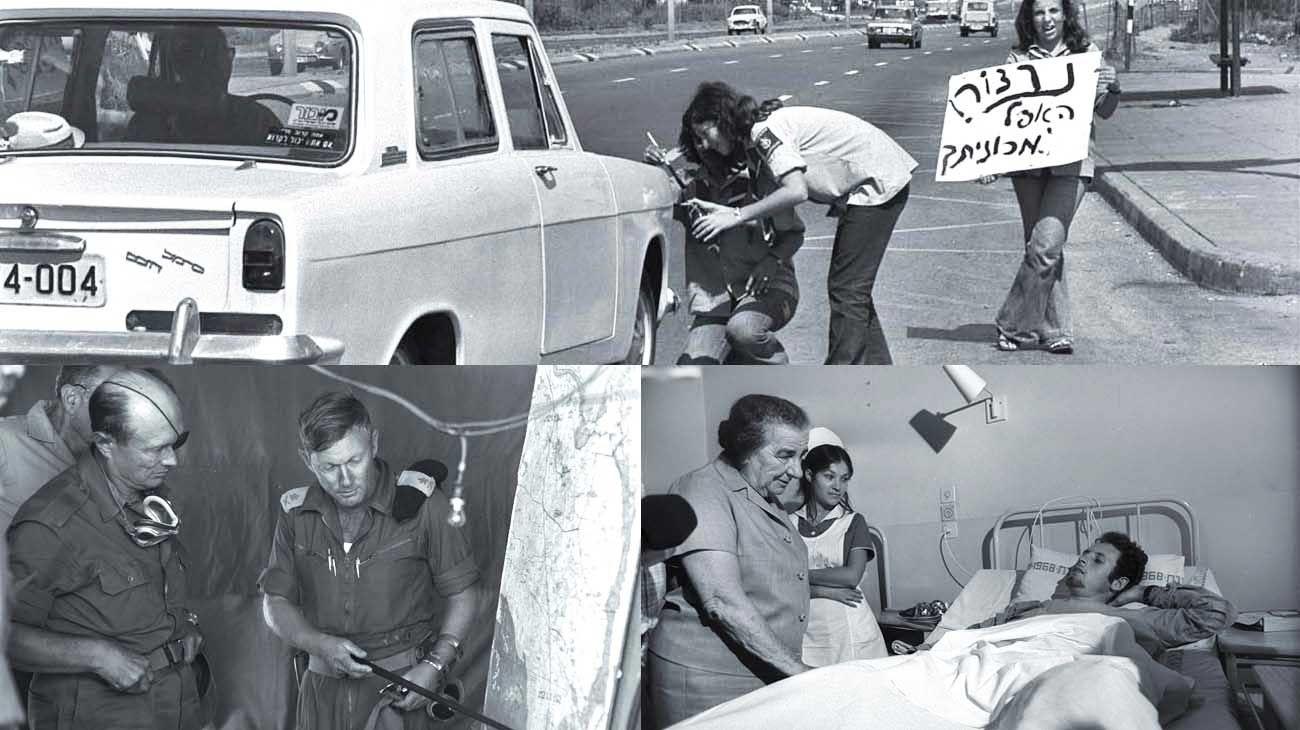 En pie de guerra. El enfrentamiento se desató en el día sagrado para el pueblo judío. La sociedad y sus líderes como Moshé Dayán y Golda Meier vivieron la situación como una afrenta.
