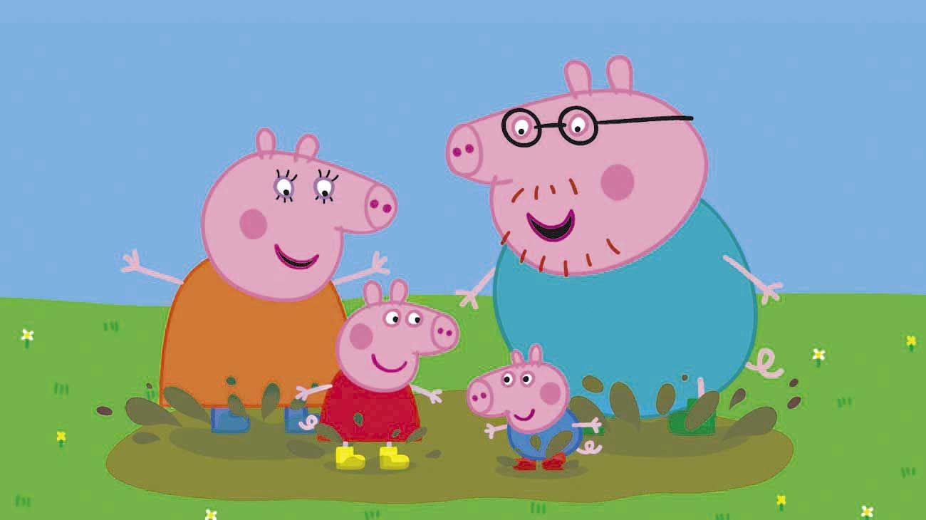 """Gigante. """"Peppa Pig"""" ya tiene 16 años como suceso y eso implica obras de teatros, parques temáticos y merchandising. Fue la serie que heredó el éxito de Los Teletubbies y Bob el constructor, y desde el Reino Unido hoy está en más de 100 territorios."""