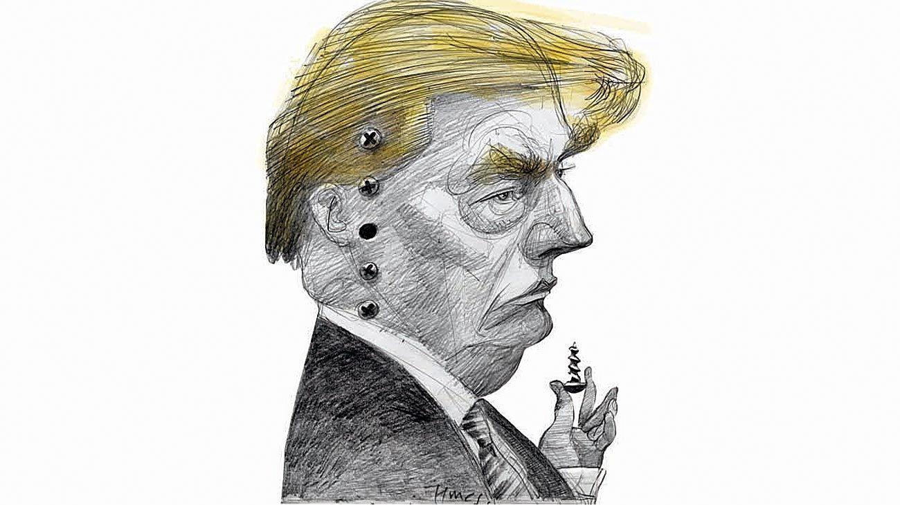'It´s only a little flu...' Donald Trump.