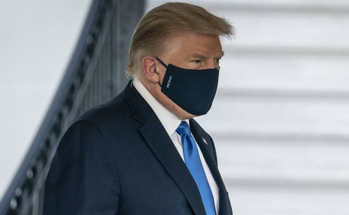 POTUS POSITIVO. Donald Trump está siendo tratado con anticuerpos monoclonales, que se investigan en Río Cuarto