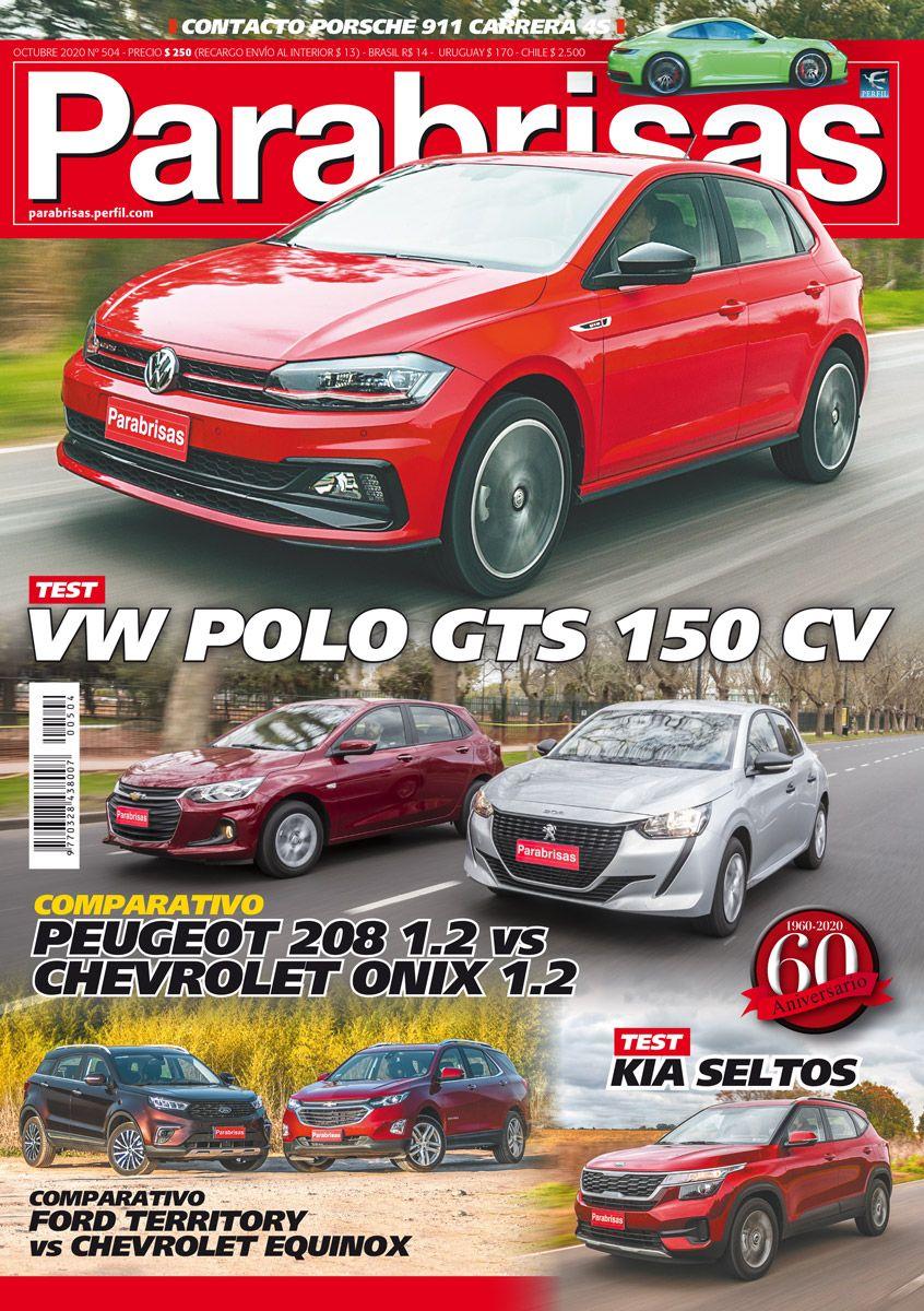 Tapa Parabrisas n 504 octubre 2020: probamos los nuevos Volkswagen Polo GTS y Kia Seltos