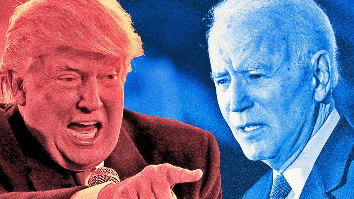 The Trump - Biden war.
