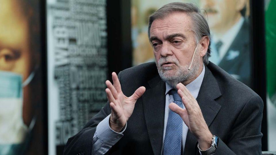 Alberto Lugones, en la entrevista con Jorge Fontevecchia.