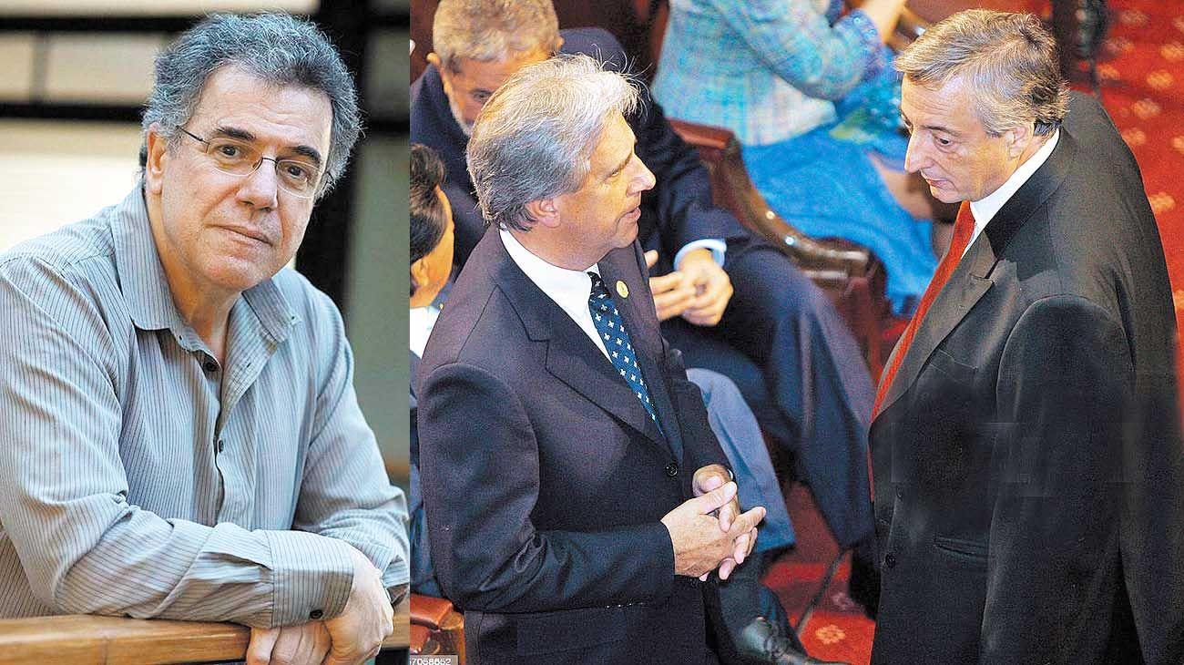 """Distintos. En Uruguay, """"el Derecho está primero sobre los afanes políticos, y es muy difícil que haya lugar para oposiciones irreductibles o para dicotomías de hierro"""" , advierte Caetano."""