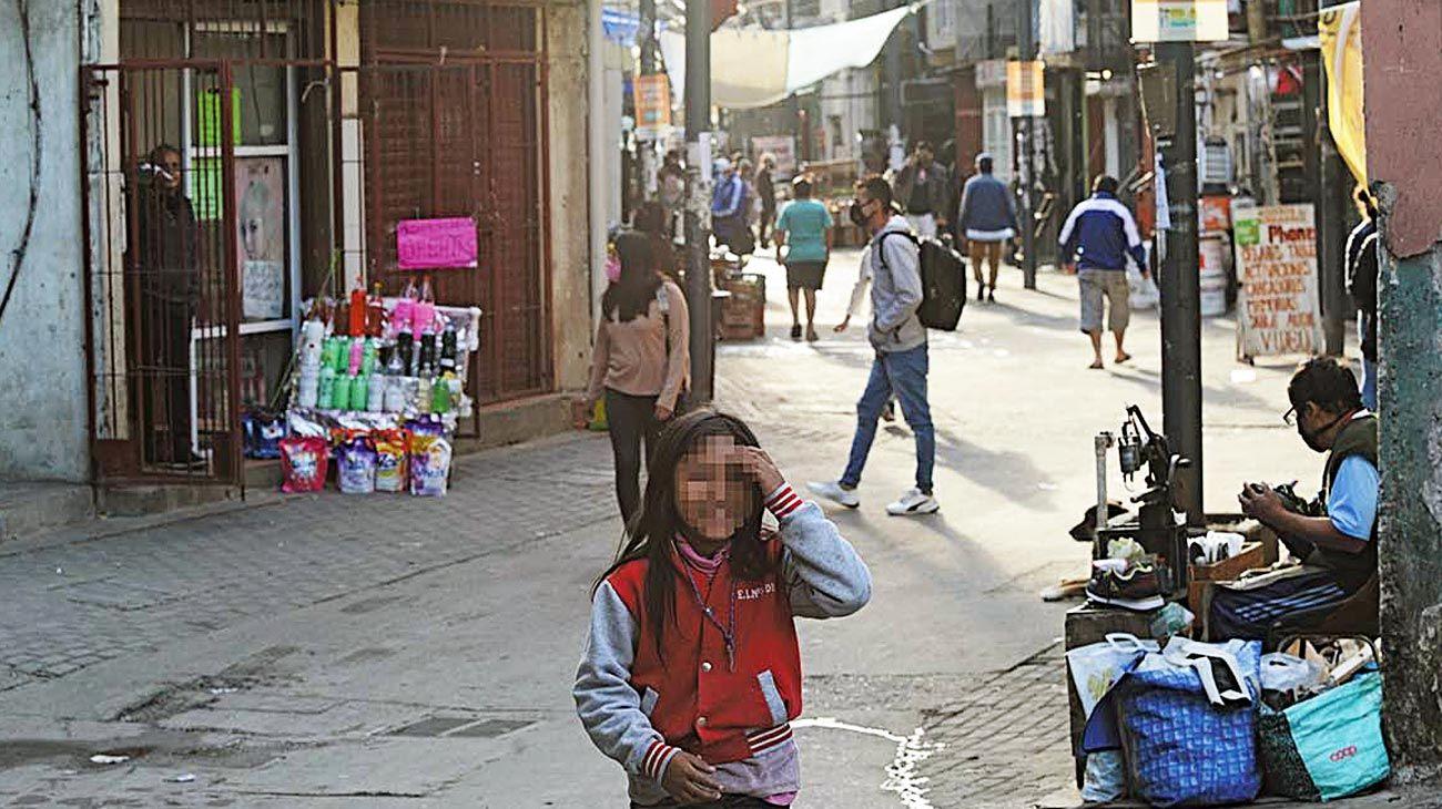Drama. La pobreza trepó hasta el 40,9% en el primer tirmestre del año.