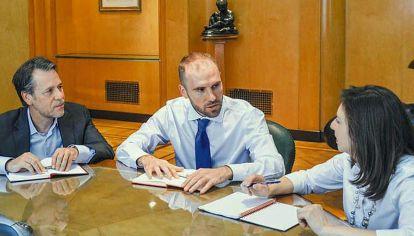 Reunión. El ministro de Economía Martín Guzmán se reunirá el martes con los técnicos del Fondo Monetario Internacional.