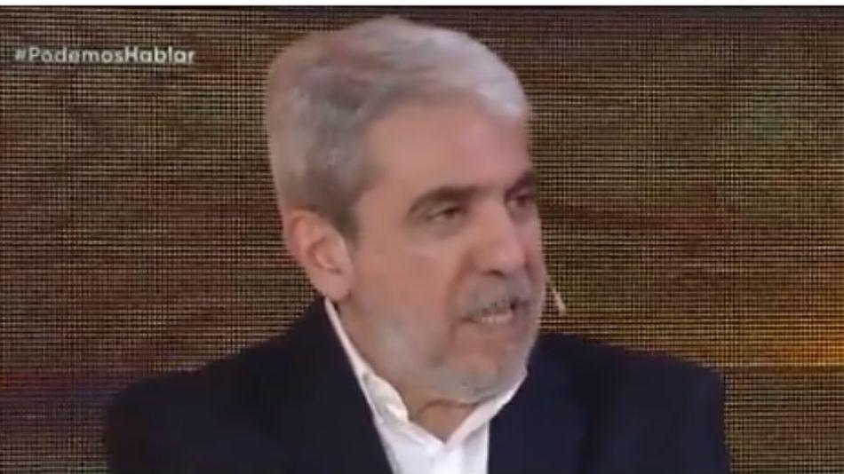 Aníbal Fernández, en Podemos Hablar, por Telefe.